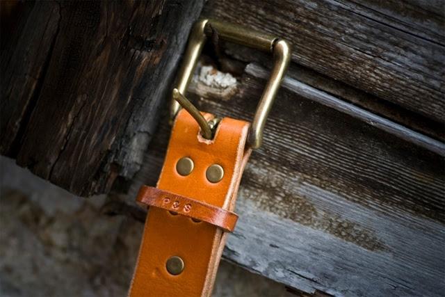 Palmer & Sons Leather Belt No 15a 01