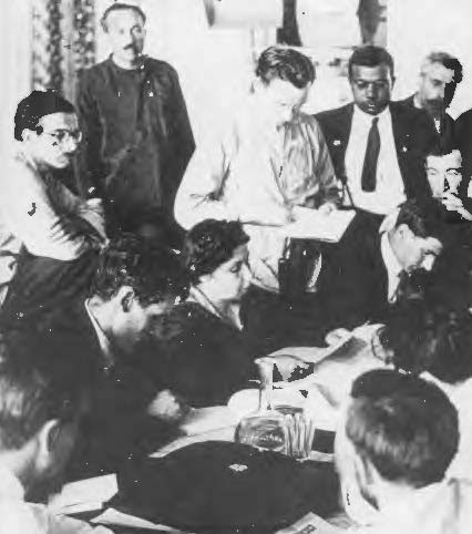 Translation at a Comintern congress (see note, below)