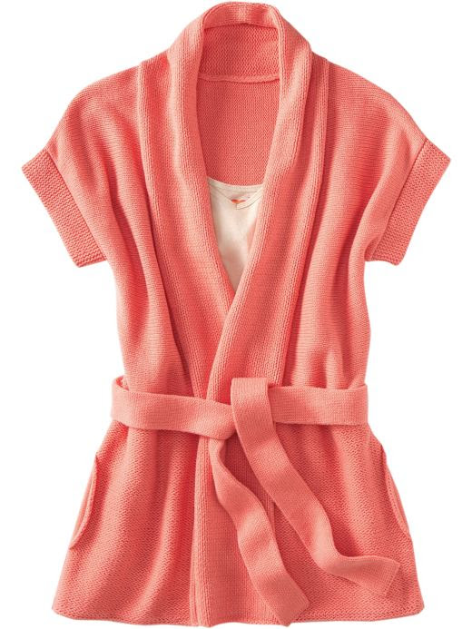 Old Navy Womens Belted Wrap Cardigans