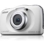 Nikon Coolpix W150 13.2 MP Compact Digital Camera - 1080p - White