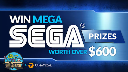 Win mega SEGA prizes worth over $600
