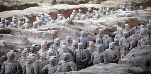 Why there's so much backlash to the theory that Greek art inspired China's Terracotta Army