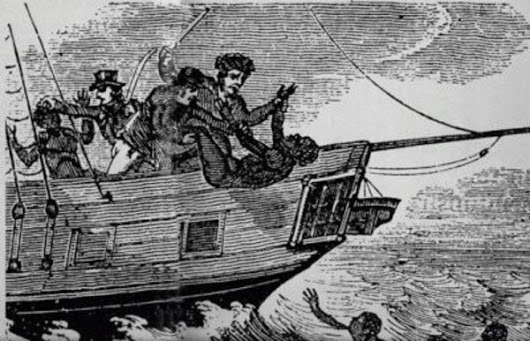 The Zong Massacre:  The Drowning Of More Than 100 Slaves For The Insurance Money