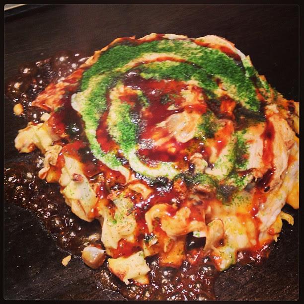 終於吃到神店大阪焼!
