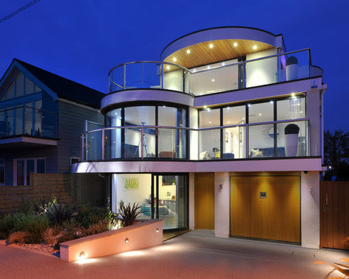 Modern House Exterior Home Design Ideas, Pictures, Remodel and Decor