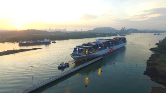 Containership's Transit Sets New Panama Canal Record – gCaptain