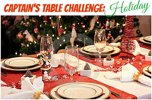 Captain's Table Challenge: Holiday!
