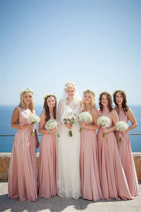 Halfpenny London Lace and Shades of Blush Pink for a