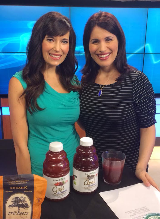 FitKim on Fox: Healthy Snacks During Pregnancy | FitKim