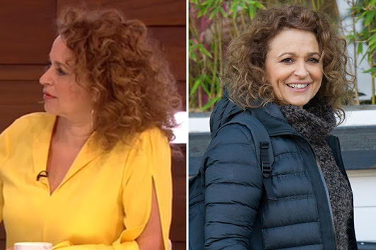 Nadia Sawalha reveals she has Botox in her TEETH to stop them grinding as dentists fear she may lose them