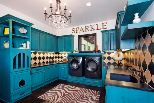 Large Laundry Room Interior Design Photo Ideas and Inspiration | Live Love in the Home