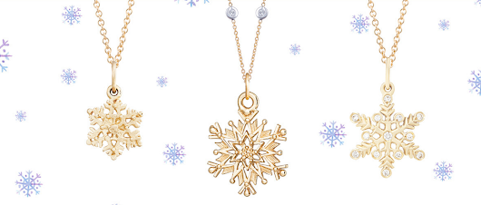 Giveaway: Helen Ficalora Sterling Silver Snowflake Mini Charm Necklace - Girl Gone Mom