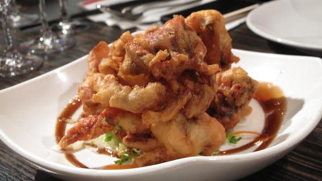 soft shelled crab - Kaya & Haywire