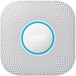 Google Nest Protect Wired Smoke and Carbon Monoxide Alarm (White, 2nd Generation)