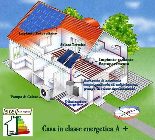 Ste pignotti climatizzazione energie rinnovabili google - Casa a risparmio energetico ...