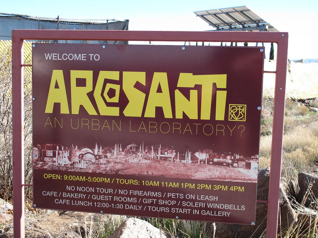 Arcosanti sign