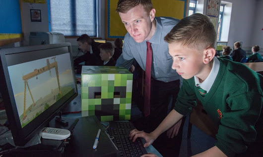 Minecraft Education Edition: why it's important for every fan of the game | Technology | The Guardian