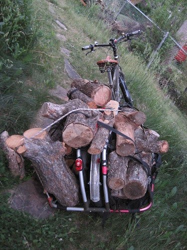 Wood Hauling first load