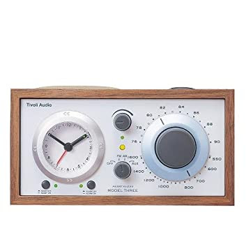 Tivoli Audio 高級ラジオ Model Three クラシックウォールナット/ベージュ TVJPM3CLA