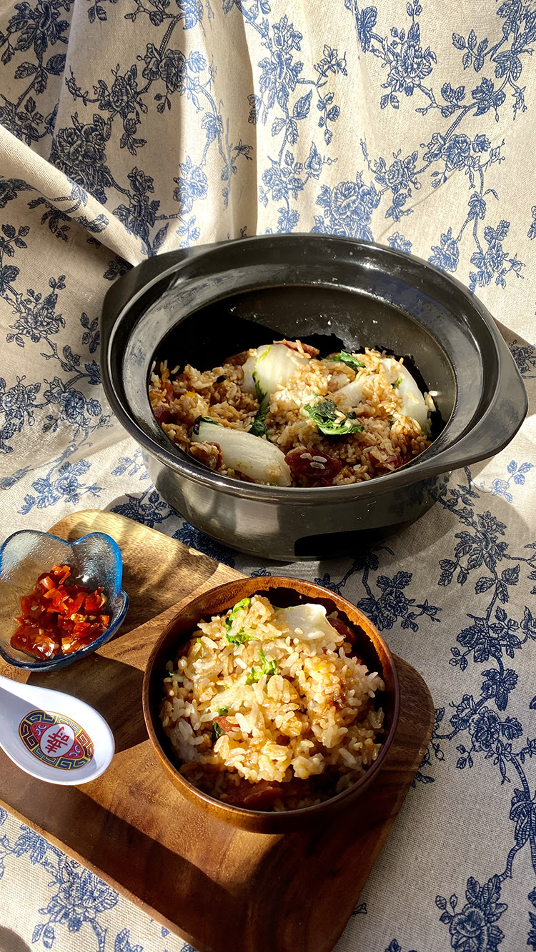 In the Kitchen (At Home): Clay Pot Rice