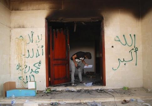 U.S. consulate in Benghazi, Libya / AP