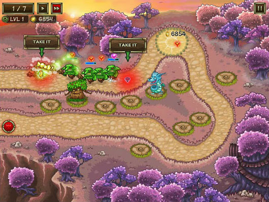 Keeper of the Grove 3 - Play Fantasy Tower Defense Game