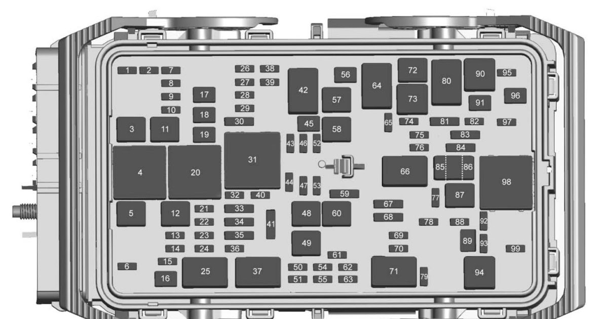 2017 Chevy Malibu Fuse Box Diagram