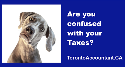 Common Tax Areas When Canadian Tax Payers Get Confused