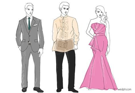 Dress codes for Filipino weddings? Barong, Suit, Gown?