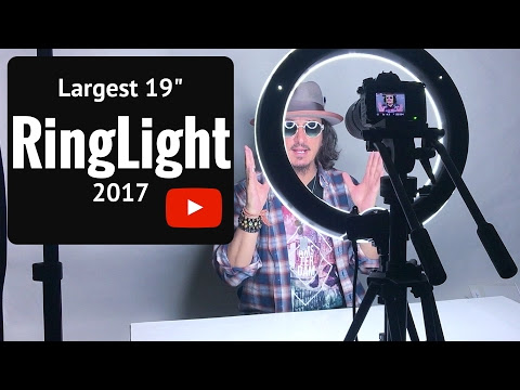 "Ring Light - 19"" Largest and Cheapest"