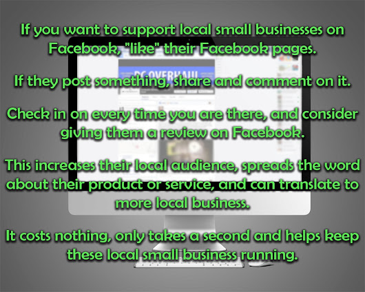 Small Business Facebook Likes Comments & Shares