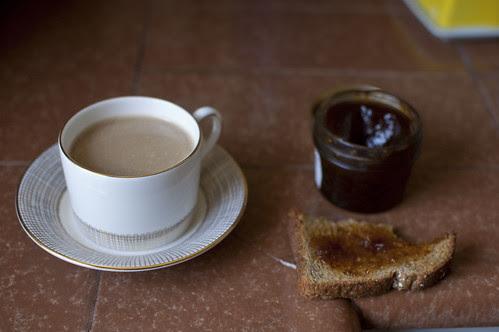 toast + coffee