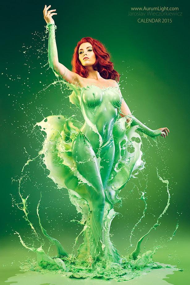 Splash Heroes Calendar : Poison Ivy