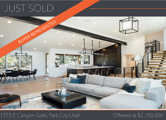 JUST SOLD | Contemporary Promontory Home with Spectacular Views