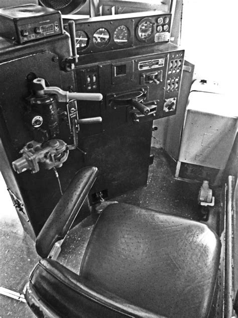 Diesel Electric Locomotive Cab Interior - Love's Photo Album