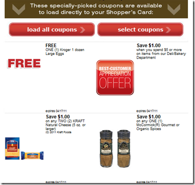 free coupons by mail. Kroger Coupons: Free Printable