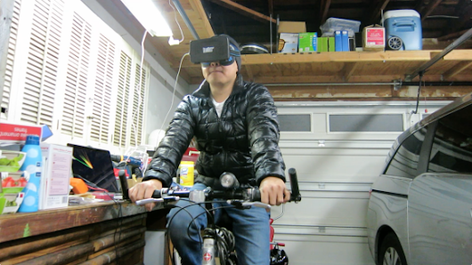 Pedal a Bike Through Virtual Reality for Under $100 | Make: