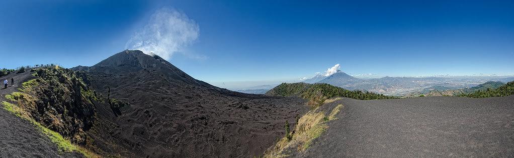 le volcan Pacaya