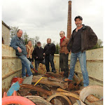 Fraisans   Sept sculpteurs transforment le fer aux Forges jusqu'à samedi
