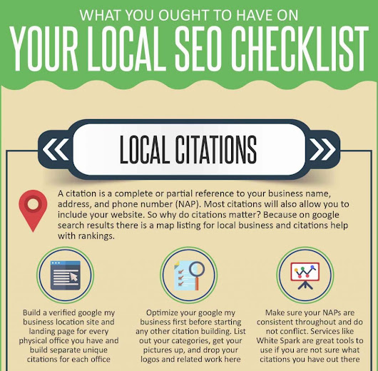 Your Local SEO Checklist [Infographic]