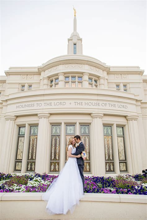 Payson Utah LDS Wedding by Michelle & Logan   Happily Ever