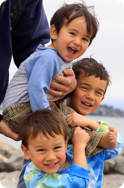 3 crazy boys