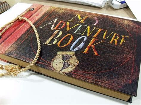Pixar Movie UP Inspired ?My Adventure Book?  by Ellie and