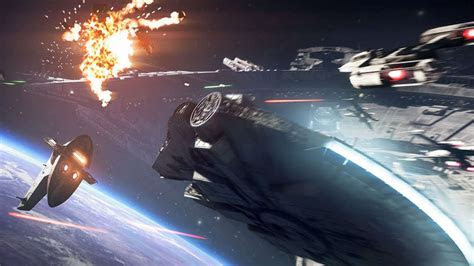 star wars battlefront  starfighter assault gameplay