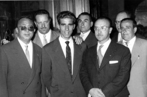 Misa en celebración del Tour ganado por Bahamontes en agosto de 1959