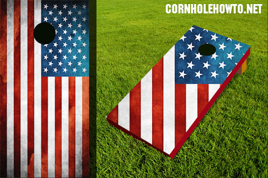 Flags Cornhole Boards Gallery - How to make cornhole boards