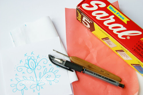 Transfer paper tutorial