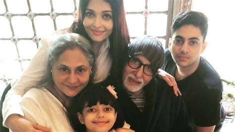 Aishwarya Rai Bachchan shares sweet image of Amitabh and