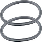 2 Gray Gasket Replacements for Nutribullet 600W 900W Extractor or Flat Milling Blades