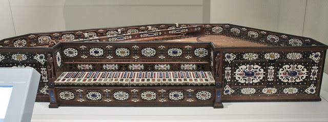 Virginal, 1577 with later additions probably by Annibale Rossi(active 1542-77), Milan- Italy